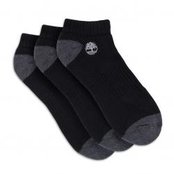 Мъжки чорапи SHOE LINERS 3 PAIRS BLACK