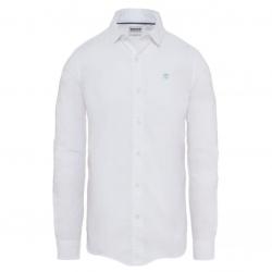 Мъжка риза SUNCOOK RIVER POPLIN SHIRT WHITE