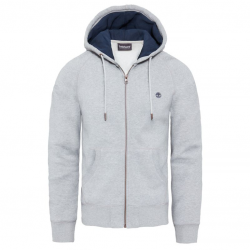 Мъжко горнище Exeter River Full Zip Hoodie Grey