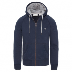 Мъжко горнище Exeter River Full Zip Hoodie Night Blue