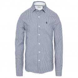 Мъжка риза Suncook River Gingham Shirt Navy