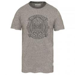 Мъжка тениска Salmon Brook Story T-Shirt Dark Grey