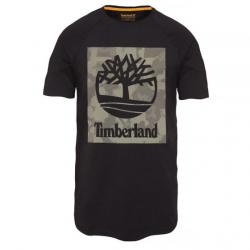 Мъжка тениска Camo T-Shirt Black