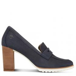 Дамски обувки Leslie Anne Mocassin Pump Navy