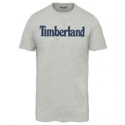 Мъжка тениска Kennebec River Linear Logo T-Shirt Grey