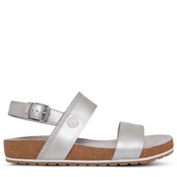 Дамски сандали Malibu Waves Two Strap Sandal Silver