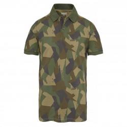 Мъжка тениска Millers River Print Polo Shirt Camo