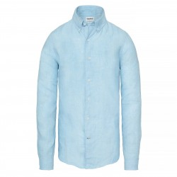 Мъжка риза Mill River Linen Shirt Blue