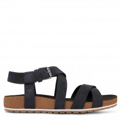 Дамски сандали Malibu Waves Ankle Strap Sandal Black