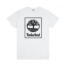 Мъжка тениска SLS SS Seasonal logo tee White