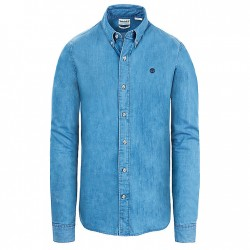 Мъжка риза Mumford River Chambray Shirt for Men in Blue