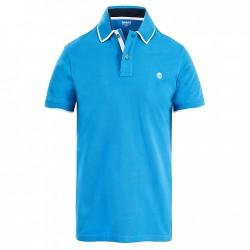 Мъжка тениска Tipped Piqué Polo Shirt for Men in Blue