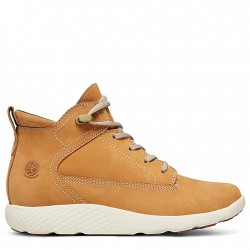 Дамски обувки FlyRoam™ High-Top Sneakers for Women in Yellow