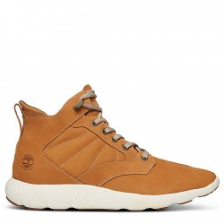 76126a38d12 WATERPROOF Мъжки обувки FlyRoam™ High-Top Sneakers for Men in Yellow