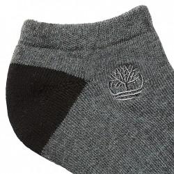 Мъжки чорапи Three-Pair No Show Socks for Men in Grey/Black