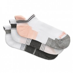 Дамски чорапи Three-Pair No Show Socks for Women in Multicolour