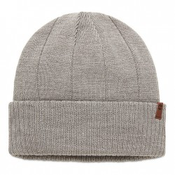 Мъжка шапка Beanie with Ribbed Cuff for Men in Grey
