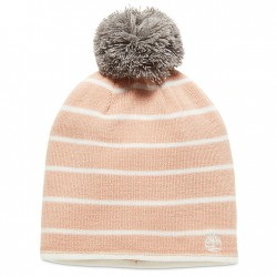 Дамска шапка Reversible Pom-Pom Beanie for Women in Pink