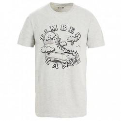 Мъжка тениска Israel River T-shirt for Men in Grey