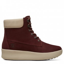 Дамски боти Berlin Park 6 Inch Boot for Women in Burgundy