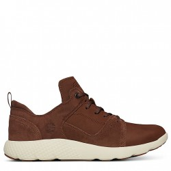 Мъжки обувки FlyRoam™ Leather Sneaker for Men in Brown