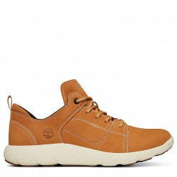 Мъжки обувки FlyRoam™ Leather Sneaker for Men in Yellow