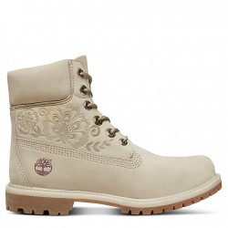Дамски боти Icon 6 Inch Premium Boot for Women in Beige
