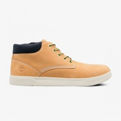 Юношески обувки Timberland Davis Square Leather Chukka in Wheat