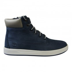 Юношески обувки Timberland Davis Square 6-inch Boot in Navy
