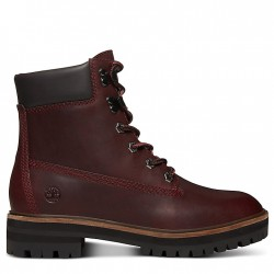 Дамски боти London Square 6 Inch Boot for Women in Burgundy