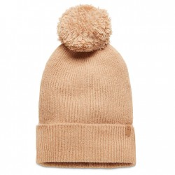 Дамска шапка Brushed Pom-Pom Beanie for Women in Taupe