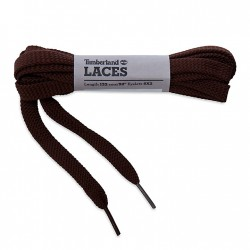"Унисекс връзки Flat Polyester Laces 52"" in Brown"