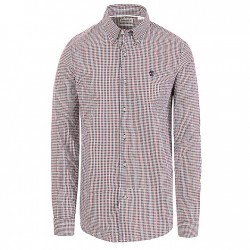 Мъжка риза Suncook River Gingham Shirt for Men in Red