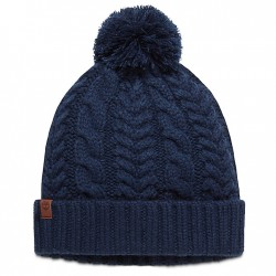 Дамска шапка Cable Pom-Pom Watch Cap for Women in Navy