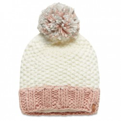 Дамска шапка Pom-Pom Beanie for Women in White