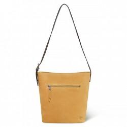 Дамска чанта Tillston Hobo Handbag for Women in Yellow