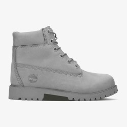 Юношески боти Timberland Junior 6 Inch Premium Waterproof Boots in Mono Grey