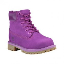 Юношески боти Timberland 6 In Premium WP Boot in Grape Juice