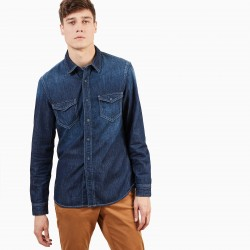 Мъжка риза Mumford River Denim Shirt for Men in Indigo