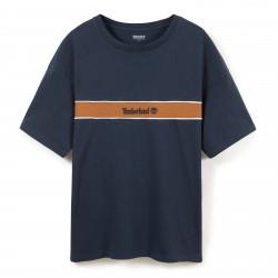 Мъжка тениска Contrast Stripe T-Shirt for Men in Navy