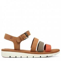 Дамски сандали Lottie Lou Multi-Strap Sandal for Women in Light Brown
