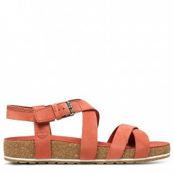 Дамски сандали Malibu Waves Strap Sandal for Women in Red