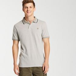 Мъжка тениска Millers River Piqué Polo Shirt for Men in Elephant Skin