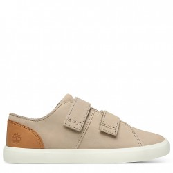 Детски обувки Newport Bay Leather Trainer for Youth in Beige